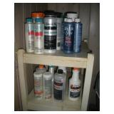 Chemicals For Spa Contents Of Shelf
