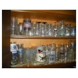 Contents Of 2 Shelves- Glassware