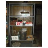 Metal Shelving Unit  (NO CONTENTS) 36x18x72