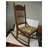 Rocking Chair  38 Inches Tall