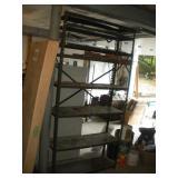 Metal Shelf 12 x 36 x 73 Inch