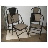4 Folding Chairs