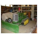 1950 John Deere MC Crawler  Partial Restoration