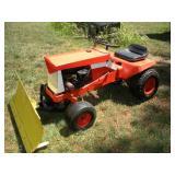 Vintage Simplicity Lawn Tractor W/Snow Plow