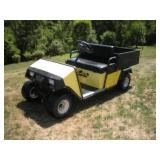 E-Z Go Gas Powered Golf Cart  Runs & Drives