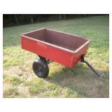 True Temper Lawn Tractor Cart Dumping