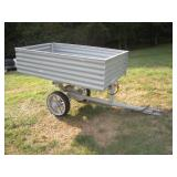 Custom Built Tractor Dumping Cart  39x60x14