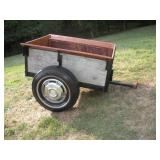 Custom Built Tractor Cart  29x45x17 Inches