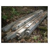 "Galvanized Steel Studs - 1.5"" x 3.5"" x 8"