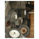 Trailer, Go Cart & Wheelbarrow Tires & Rims