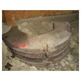 """(4) Tractor Weights  6"""" x 26"""""""