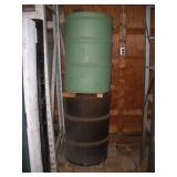 (2) 55 Gallon Drums