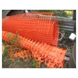 (2) Partial Rolls Of Snow Fence