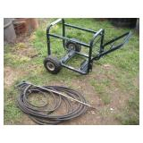 Pressure Washer Cart Only & Hose With Sprayer