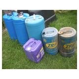 Plastic Liquid Storage Containers