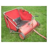 Wheel Horse Lawn Tractor Grass Broom