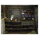"Metal Shelves  (NO CONTENTS)  24""x96""x90"""