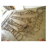Tractor Tire Chains - Various Sizes