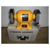 "6"" Bench Grinder - NIB"