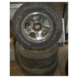 (3) Chevy Truck Rims