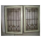 "2 Led Glass Windows  18""x28"""
