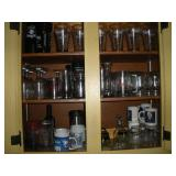 Glasses - Contents Of Cupboard