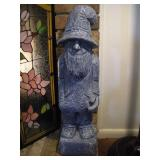 Sir Walter Gnome - Cement  26 Inches Tall