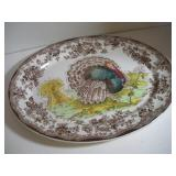 Royal Staffordshire Turkey Platter  19 Inches