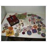 Boy Scout Pins & Patches