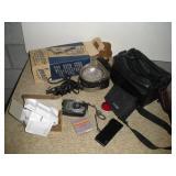 Light Meter & Camera Lights, Nikon F801 & Cases