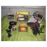 Soldering Gun, Glue Gun & Staple Gun