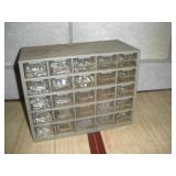 Hardware Organizer With Hardware