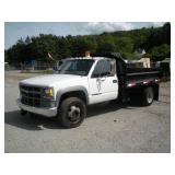 2000 Chevrolet 3500 HD Dump Truck