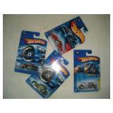 (4) HOT WHEELS CARS  NIB