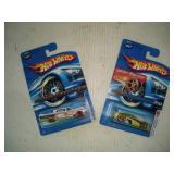 (2) HOT WHEELS CARS  NIB