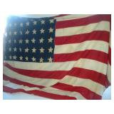 American Cloth Flag - 48 Stars  54x92 Inches