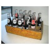 Coke Bottles & Wooden Coke Crate