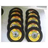(10) 9 Inch Masonary & Metal Cut Off Wheels