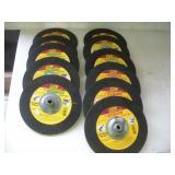 (11) 9 Inch Masonary & Metal Grinding Wheels