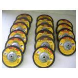(16) 7 Inch Masonary & Metal Grinding Wheels