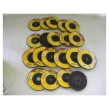 (20) 4 1/2 Inch Masonary Grinding Wheels