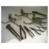 Assorted Clamps & Pliers