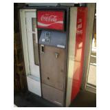 Vintage Coca Cola Vending Machine W/Keys
