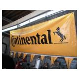 Continental Tire Vinyl Banner   120x36 Inches