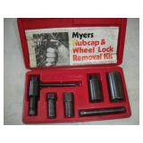 Myers Hubcap & Wheel Lock Removal Kit