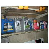 Oil & Automotive Fluids - Contents Of Shelf