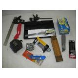 Knives, Squares & Tape Measures