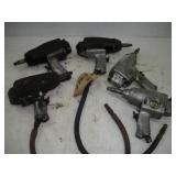 (5) 1/2 Inch Drive Air Impact Guns (Parts Only)