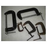C-Clamps   4 & 6 Inch