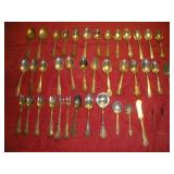 Assorted Sterling Silver Flatware, 39 Pieces
